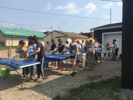 Middle Years Tie Dye Class at Birtle Centre for the Arts